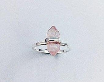 Ring - Penelope in Rose Quartz