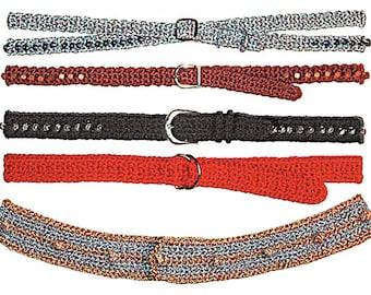 Belts to Crochet PDF Pattern Instant Download