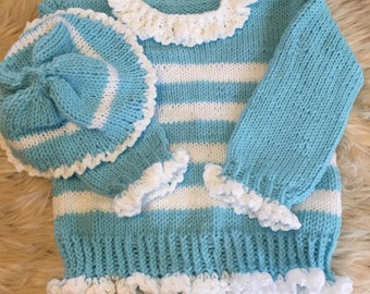 Knit toddler sweater