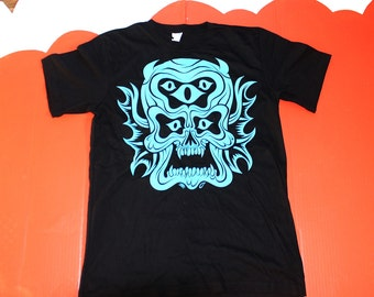 Pentaclops black T-Shirt by Martin Ontiveros all sizes back in stock