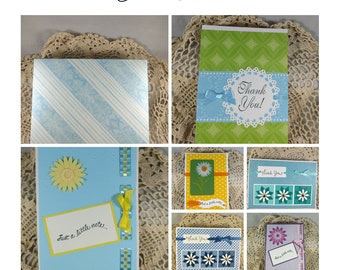 Blank Greeting Cards, Card Sets, Blank Cards, Thank You Cards, Note Cards, Handmade Cards