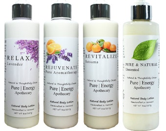 All Natural Body Lotion with Essential Oils (8 oz.)