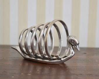 Vintage Silverplate Letter Holder