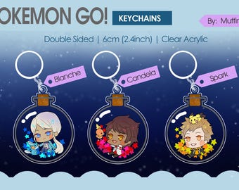 Pokemon Go! Keychains