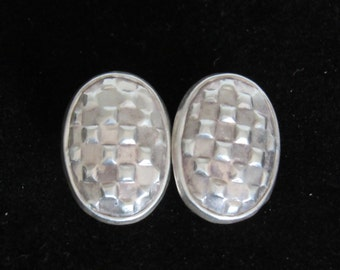 VINTAGE STERLING EARRINGS, Sterling Silver .925, Contemporary