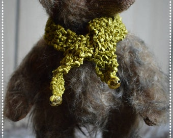 Trixie, OOAK artist bear - girl - cute gift
