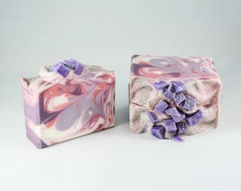 Sugarplum Fairy | Handcrafted Artisan Soap | XL Size | Luxury | Gift for Her  | Holiday Collection | Christmas | Free Shipping
