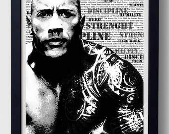 "Dwayne ""The Rock"" Johnson Poster"