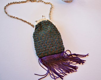 Purple Handbag Bags and Purses, Prom Purse, Women's Accessories, Wedding Bag, Bridesmaid Bag, Clutches and Evening Bags