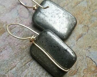 Just Pyrite and Brass, ThePurpleLilyDesigns