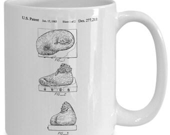Star wars jabba the hutt coffee mug | gift for her | best friend gift | art print | bets friend | girlfriend gift | best friend gift