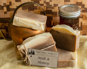 Milk & Honey Handmade Soap