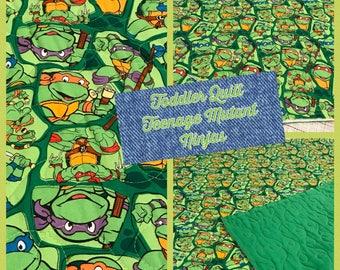 Toddler Quilt, Teenage Mutant Ninja Turtles,