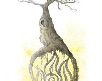 Elemental Tree Series- Fire