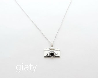 Camera Necklace, Everyday Necklace, Simple Necklace, Charm Necklace, Small Necklace, Dainty Necklace, Bridesmaid Necklace, Bridesmaid Gift