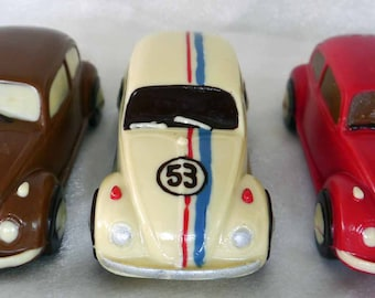 Hand-made Belgian Chocolate VW Beetle Car