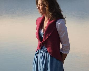 Scarf Vest Size 36-40