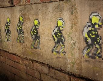Skeleton Army Graffiti