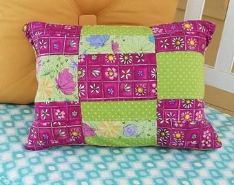 Teen pillow, College  gift, small tent pillow, camping pillow, girls camp pillow, college dorm pillow, dorm pillow,