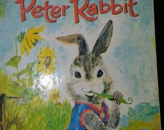 1982 Little Golden Book Peter Rabbit