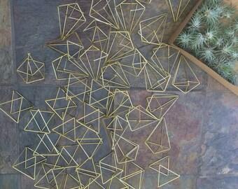 50 geometric shapes, centerpiece, window display, backdrop, favors