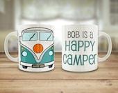 Camper Van mug, Personali...