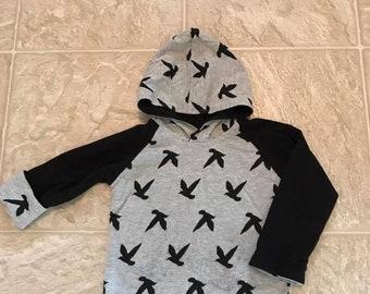 18m reversible hoodie