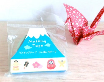 Masking tape - washi tape - Traditional Japanese them - Light Green