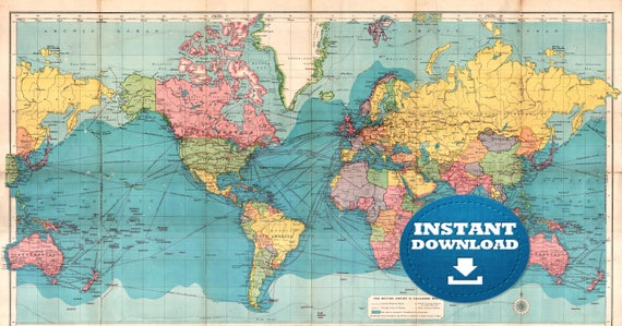 High quality world map vatozozdevelopment high quality world map gumiabroncs Image collections