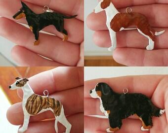 Custom made Dog Breed Charms