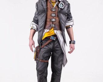 Handsome Jack cosplay costume from Borderlands 2 video game, Halloween costume