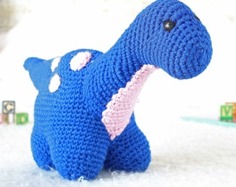 Stuffed Toy Dinosaur Plushie for Girls and Boys | Prehistoric Dinosaur Amigurumi | Gifts for Babies | Gifts for Boys | Birthday Present