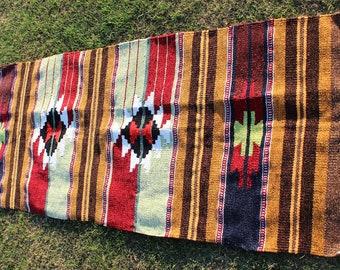 Buglem / Handwoven Vintage Turkish Velvet  Rug - Adiyaman region- 26,4''x72'' inch