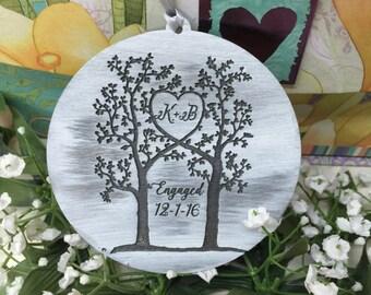 Wedding Gift, Personalized Ornament, Personalized Gift Tag, Gift Tag, Valentine Gift, Valentines Day, Wedding Decor