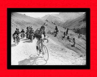 Get 1 Free Print - Tour De France Print - Cycling Poster Cycling Prints Photography Tour De France Poster