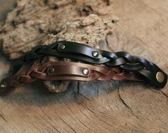 2x Couple Bracelet, Matching Bracelet, Leather Bracelet, Bracelet, Cuff, Wristband, Custom Bracelet, Engraved Bracelet, Engravable Bracelet