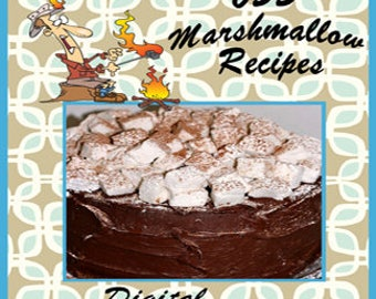 655 Marshmallow Recipes E-Book Cookbook Digital Download
