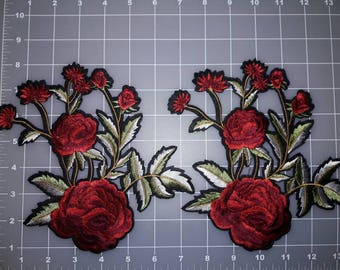 Beatiful Embroider FLOWER PATCH IRON It