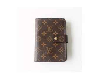Louis Vuitton Monogram bifold snap Wallet