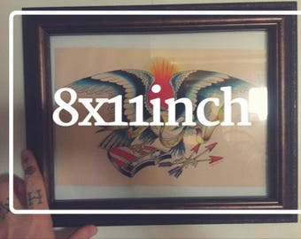 Custom Painting MEDIUM 8x11inch