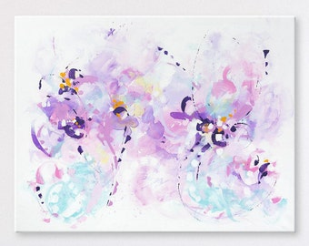 Violet painting Large Wall art Original abstract painting Abstract art Abstract wall art Painting on Canvas Art Modern Large Art Abstract