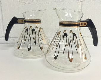 David Douglas Coffee Pot Coffee Carafe 10 Cup Glass Carafe Vintage Kitchen Retro Flameproof Mid Century Modern-- PRICE PER POT 2 Available