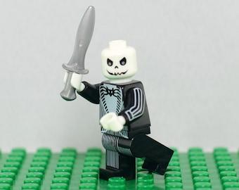Jack Skellington Custom minifigure (Lego Compatible) The Nightmare Before Christmas Pumpkin King Halloween Town Tim Burton Oogie's Revenge