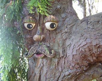 Tree Face Garden Decorations, Sculptures, Statues Ornaments. Outdoor Garden  Decorations Yard Art,