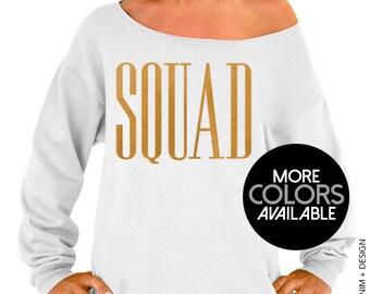 Squad - Squad Bridal Collection - Slouchy Oversized Sweatshirt
