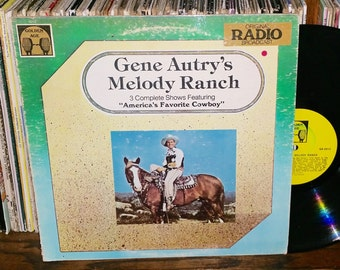 Gene Autry Melody Ranch Vintage Vinyl Record