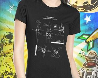 ZNation / Addy's Zombie Whacker / Black Women's T-Shirt