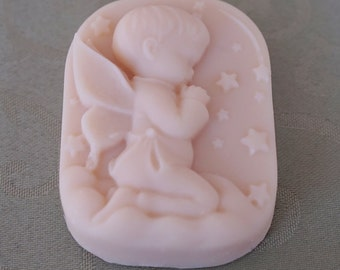 Praying Angel Cold Pressed Natural Handmade Soap