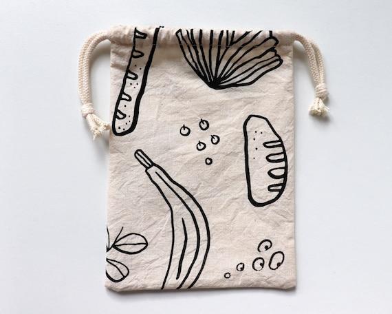 Good Food // Cotton Mini Snack Bag