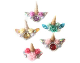 5 pc. Unicorn Bling (Assorted Colors)